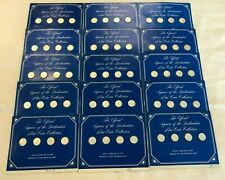 Franklin Mint Official Signers of the Declaration Mini Sterling Silver Coin Set