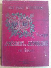 Voyage du président de la République en RUSSIE, Aubanel 1898, in-folio, F. Faure