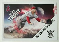 2020 Topps Big League DEFENSIVE WIZARDS Complete Insert Set 15 Cards