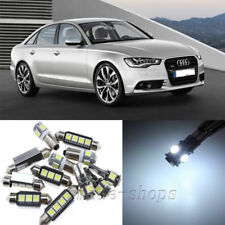 Error Free White 20pcs Interior LED Light Kit for 2006-2011 Audi A6 S6 C6 Avant