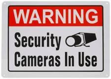 Aviso de câmera de segurança