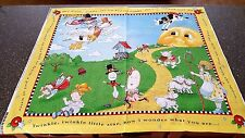 Mother Goose Panel 35x44 Mary Engelbreit VIP Cranston 100% Cotton Fabric