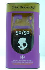 Skullcandy Supreme Sound 50/50 11mm Earbuds in Athletic Purple with Mic