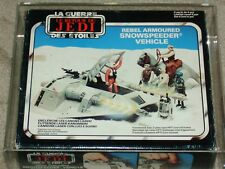 Vintage Star Wars 1983 Palitoy/Meccano AFA 70Q SNOWSPEEDER ROTJ MIB BOXED!