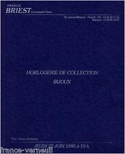 Catalogue de vente bijou Horlogerie de Collection Montre ancienne Pierre Hugo