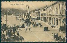 Brescia Salò Lago di Garda Barca cartolina QT4734