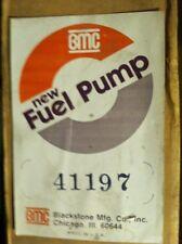 41197 BMC MECHANICAL FUEL PUMP BLACKSTONE MFG. Co. Made In USA See Pics