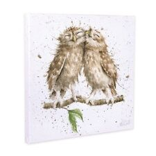 WrendaleDesigns 'Birds of a Feather' Canvas Print 20cm