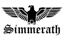 Reichsadler Simmerath Auto Aufkleber Sticker Schrift Adler Deutschland