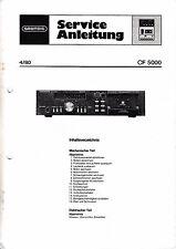 Service Manual-Istruzioni per Grundig CF 5000