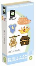NEW!!  Cricut Life's a Party cartridge!!   3D Objects, Font, and free shipping!!