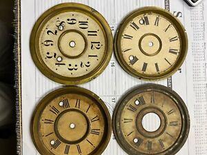 Gingerbread clock dials