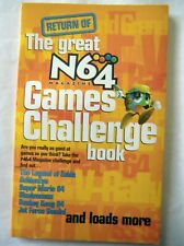 70837 N64 Magazine - The Great Games Challenge Book Magazine 2000