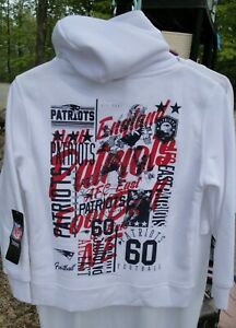YOUTH NEW ENGLAND PATRIOTS HOODIE ~ NEW WITH TAGS NFL TEAM APPAREL