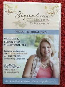 Signature Collection Sara Davies Just for Men & Together Forever 2 DVD Set
