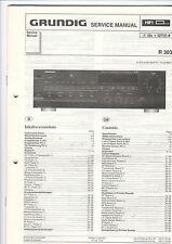 Grundig Service Anleitung Manual R 303   B437