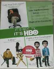 Curb Your Enthusiasm Flight of The Conchords Extras DVD