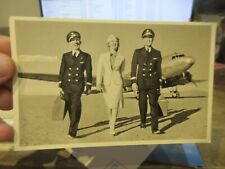 Other Old Postcard Airplane Plane Aircraft American Airlines Pilots Stewardess