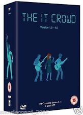 The IT Crowd Complete Series 1 2 3 4 DVD BOX SET Seasons Collection New Sealed