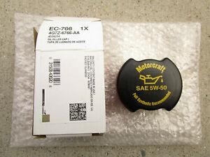 FORD 4G7Z-6766-AA MOTORCRAFT EC-766 / EC766 ENGINE OIL FILLER CAP OEM BRAND NEW