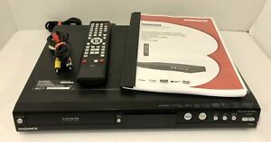 Magnavox MDR535H/F7 HDD & DVD Recorder  FULLY TESTED w/ Remote, Cords & Manual