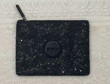 Mimco Black Leather Medium Pouch