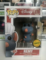 ⭐️Ratatouille- Remy [Flocked] Limited Edition CHASE #270 Funko Pop + Protector⭐