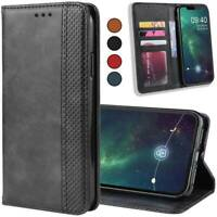 For iPhone 7 8 Plus 11 Pro X Xr Xs Max Case Leather Stand Wallet Card Flip Cover