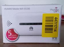HUAWEI E5330 UNLOCKED WHITE MOBILE INTERNET BROADBAND WIFI 3G MODEM
