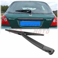 Car Black Rear Window Wiper Arm+Blade For Honda Civic Hatchback 2001-2005 FM