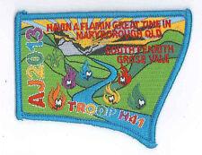 AJ2013 - AUSTRALIA SCOUT NATIONAL JAMBOREE - TROOP H41 SCOUTS BADGE