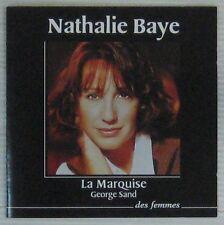 Nathalie Baye CD La Marquise George Sand