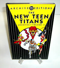 New Teen Titans Volume 4 DC Comics Archive Edition Hard Cover HC New Sealed