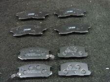TOYOTA MR2 plaquettes de frein avant et arrière 1992 > Mk2 GT & TURBO