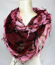 New $38 COLLECTION XIIX WHISKERY INFINITY LOOP Women's 25x39 DESIGNER SCARF WRAP
