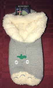 Studio Ghibli My Neighbor Totoro Knit Slippers Adult New