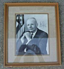 Neil Armstrong Signed AutoPen 8x10 Photo FRAMED Apollo 11 NASA