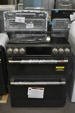 "Ge Cafe Ces750P3Md1 30"" Matte Black Double Oven Electric Range Nob #92218 Hrt"