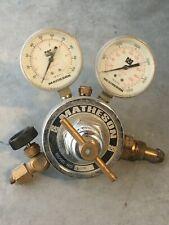 Matheson Model: 8-350 Fuel Gas Pressure Regulator Gauge