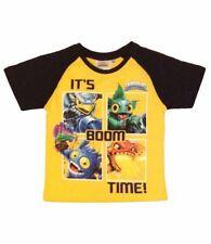 T-shirts et hauts jaune à manches courtes pour garçon de 2 à 16 ans