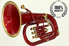 Professional Bb Euphonium 3 Valves Red Brass Expert's Choice with Hard Case & MP