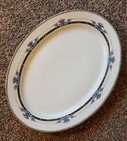 "Noritake Daventry Serving Platter 16"" Oval 1930's Pre-War Japan, PRISTINE! MINT!"