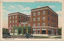 Hotel Pearson in Russellville AR Postcard