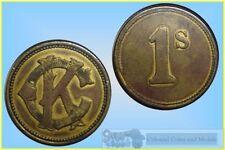 Bronze Exonumia Tokens