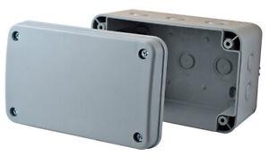 BG Weatherproof IP55 Outdoor Junction Box 100 x 180 x 110mm