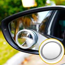 1* Wide Angle Convex Blind Spot Round Stick-On Side View Rearview Car SUV Mirror