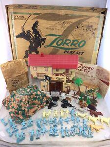 Vintage Marx Walt Disney Zorro Playset No. 3753