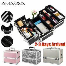 Extra Large Vanity Case Beauty Box Make up Jewellery Cosmetic Nail Storage Box