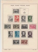 poland 1947 stamps page ref 17521