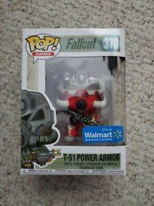 Funko Pop Fallout #370 T-51 Power Armor Walmart Exclusive NIB